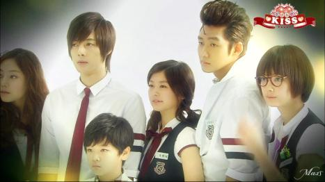 playful kiss cast cover
